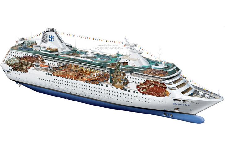 Ship Vector Art