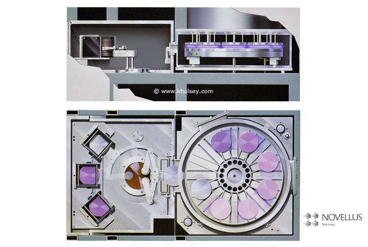 Wafer fab electro plater cross-section