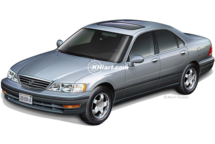 Car Exterior Stock Illustrations