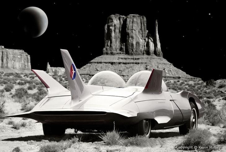Retro Automotive Illustrations Fantasy And Surrealistic