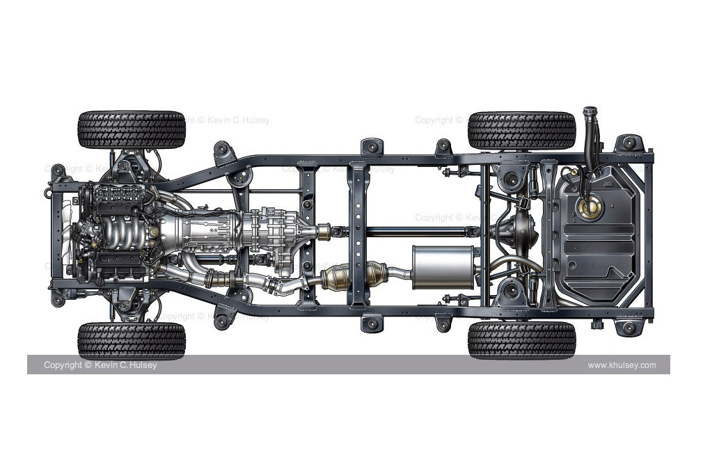 truck frame chassis