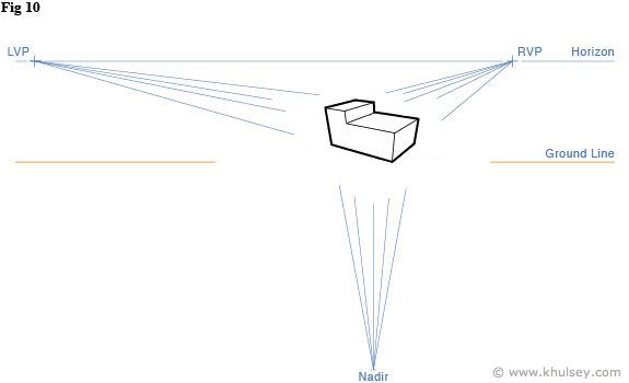 3 point perspective tutorial.