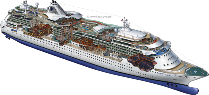 Cruise Ship Vector Images amp Pictures Becuo
